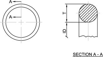 MS28775 CAD Drawing